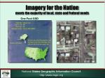 imagery for the nation meets the majority of local state and federal needs1