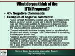 what do you think of the iftn proposal2