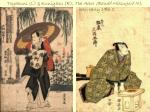 toyokuni l kuniyasu r the actor band mitsugor iii both early 19th c