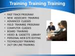 training training training