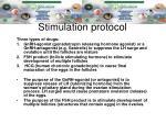 stimulation protocol