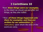 i corinthians 102