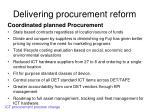 delivering procurement reform1