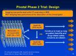 pivotal phase 2 trial design
