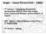 anglo saxon period 410 1066