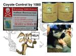 coyote control by 1080