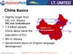 china basics
