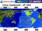 china eastbound jp usa