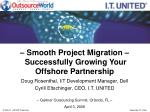 smooth project migration successfully growing your offshore partnership