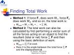 finding total work