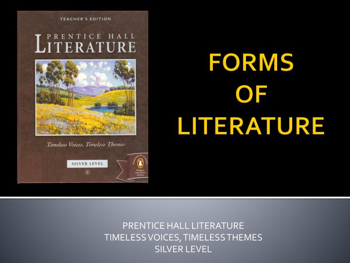 prentice hall literature timeless voices timeless themes silver level n.