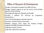 office of research development1