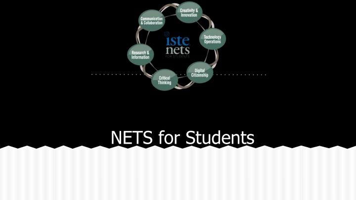 Nets for students