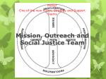 mission outreach and social justice team