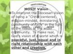 mosjt vision
