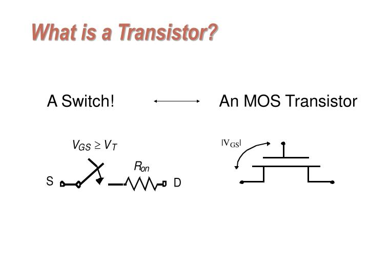 what is a transistor n.