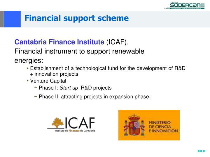Financial support scheme
