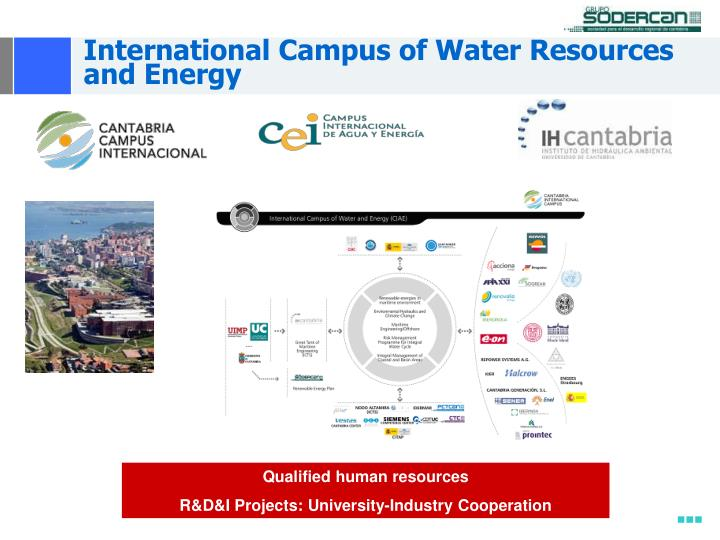 International Campus of Water Resources and Energy