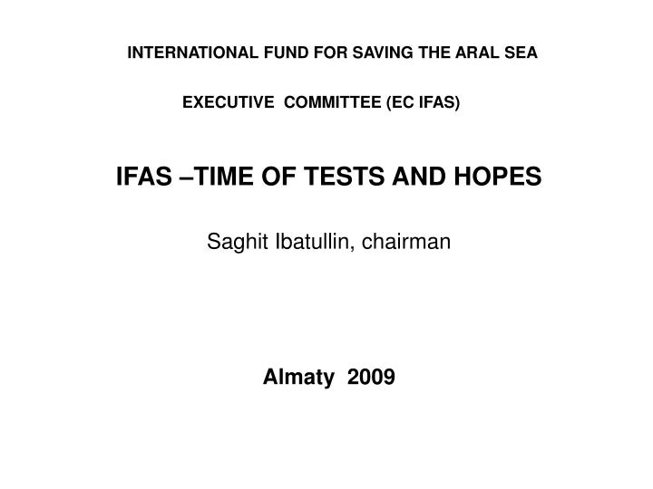 executive committee ec ifas n.