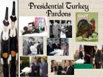 presidential turkey pardons