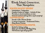rhode island connecticut new hampshire