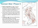 korean war phase ii