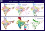 indian monsoon irrigation and physiography