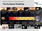 the european roadmap