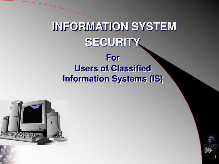 for users of classified information systems is n.
