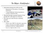 to mars pathfinder1