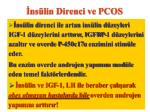 ns lin direnci ve pcos