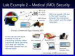 lab example 2 medical imd security