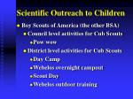 scientific outreach to children