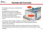 vaciado del concreto1
