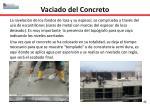 vaciado del concreto3