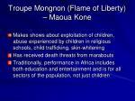troupe mongnon flame of liberty maoua kone
