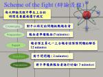 scheme of the fight