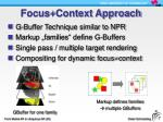 focus context approach