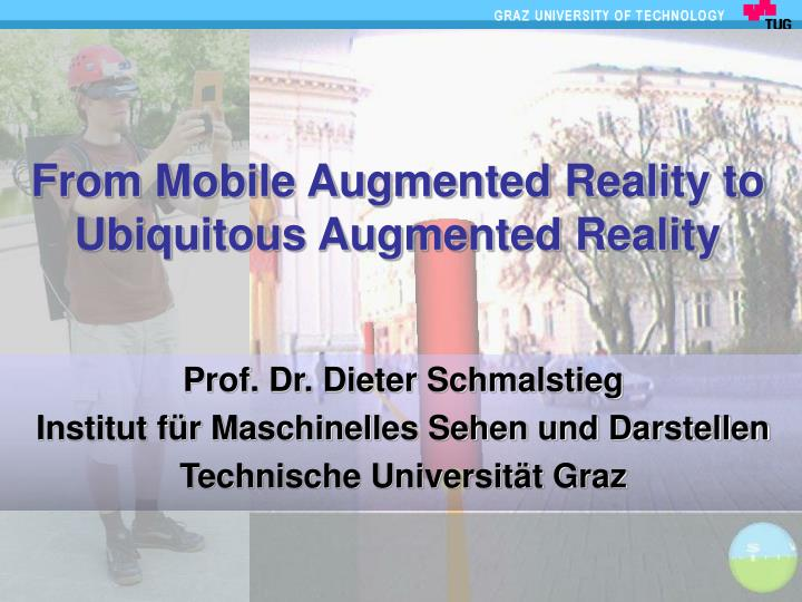 from mobile augmented reality to ubiquitous augmented reality n.