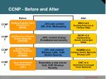 ccnp before and after