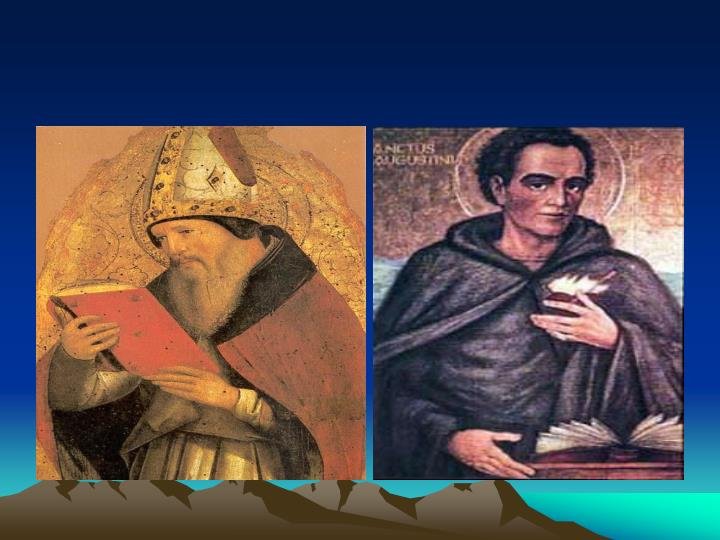 Saint augustine the human person as relational and volitional
