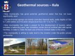 geot hermal sources kula