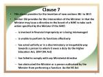 clause 7