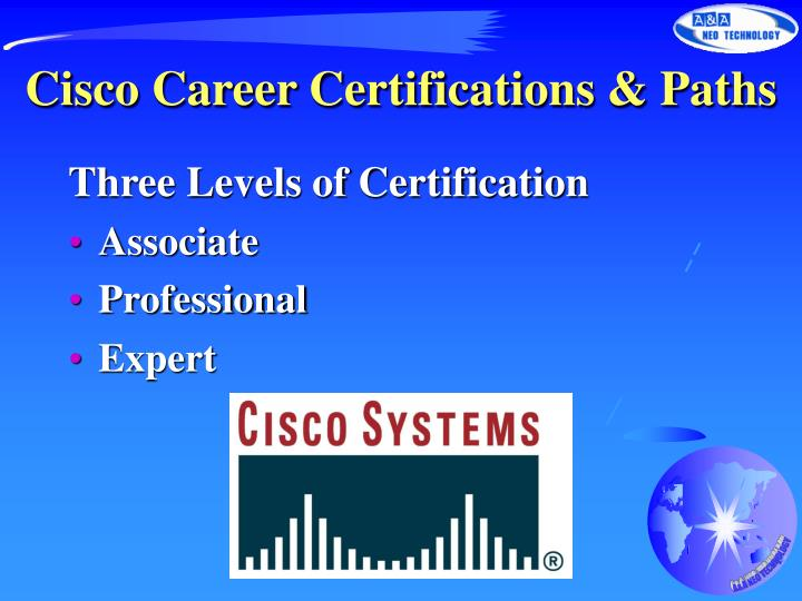 cisco career certifications paths n.