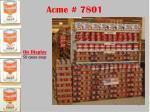 acme 7801