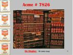acme 7826
