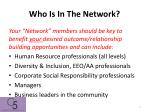 who is in the network