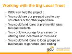 working with the big local trust