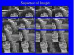 sequence of images