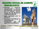 registro estatal de agentes inmobiliarios